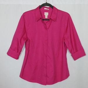 Chico's Button Down Top Size 1.5